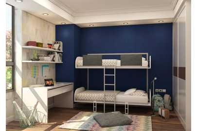 Pat Rabatabil Suprapus Simple Bunk